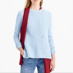 Charcoal grey sweater from J. Crew